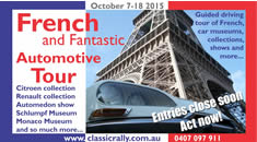 French & Fantasic Automotive Tour